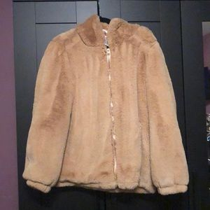 Urban Outfitters Jackets & Coats - Urban Outfitters Faux fur hooded coat